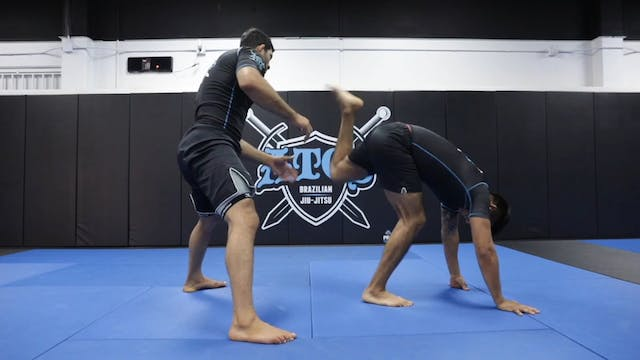 K Guard To Waiter Sweep Attack + Stac...