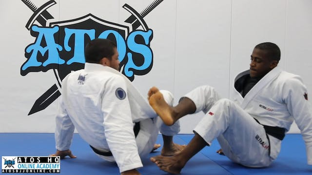 Calf Slice Crab Ride Sweep From 50/50 To Leg Drag Pass