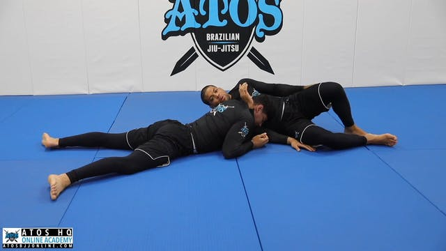 Darce Choke From Side Control With Ad...