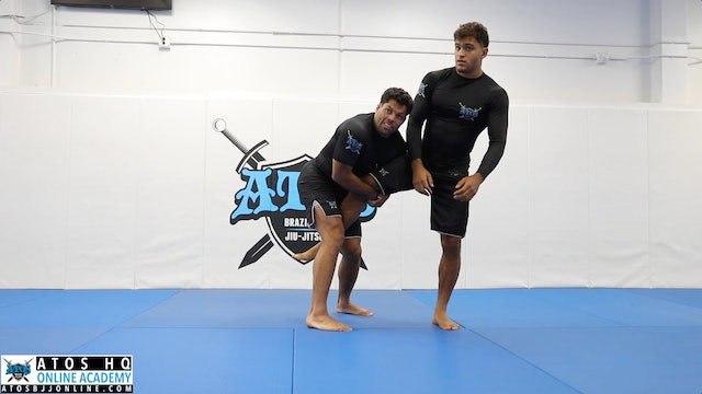 Elbow Pass Setting Up to Takedown Attacks - Single, Double and Body Lock