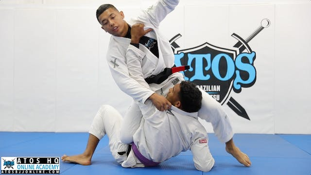 Triangle When Opponent Plays Knee Shi...
