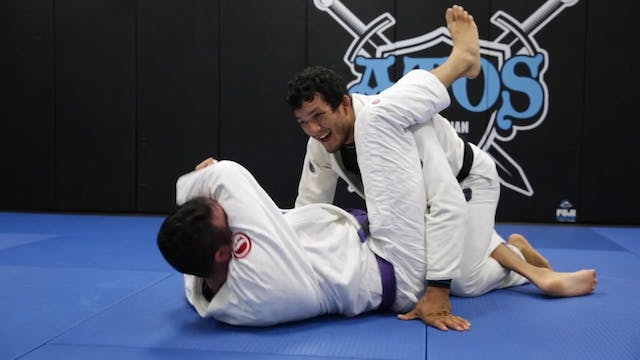 Back Take From Over Under Pressure Pass