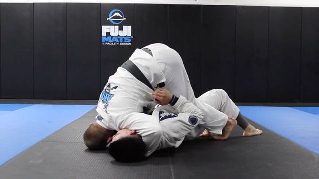 Half Guard Pressure Pass to Side Control