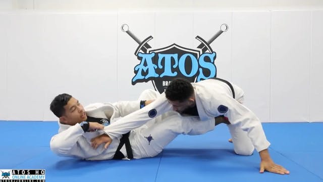 Arm Bar From Two-on-One Guard