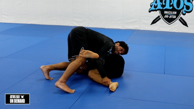 Killing the K Guard Reverse Stack Pass with Option to Crucifix
