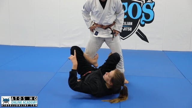 Drill - Entering the Knee Bar From Guard