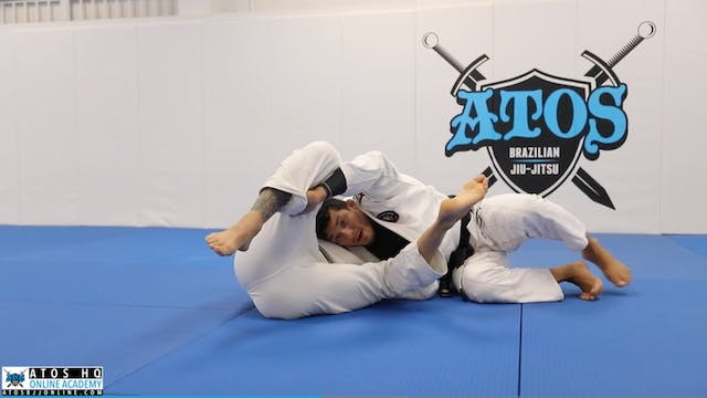 Long Step Pass From Knee Shield Using...