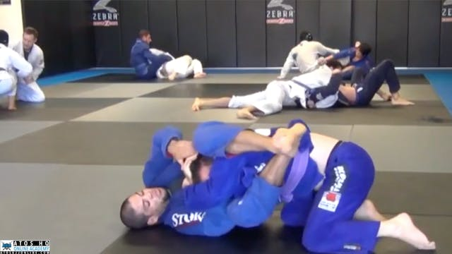 Galvao Rolling With One His Students ...