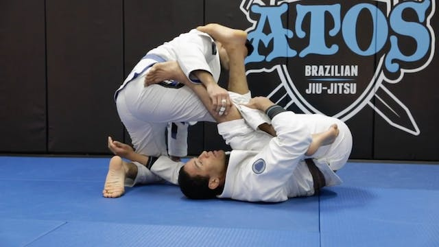 Kiss of the Dragon to Body Lock Sweep