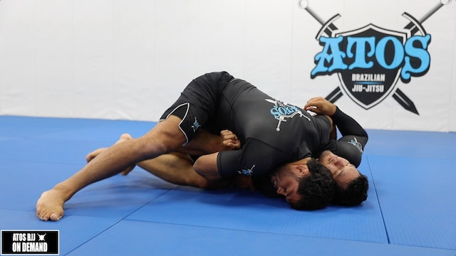The Best Way To Control Your Opponent After a Takedown and/or Sweep