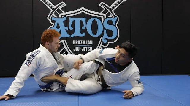 Sweeping From the One Leg X Guard