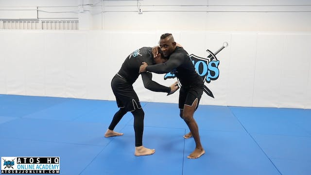 Extra Details on Inside Control Elbow Pass
