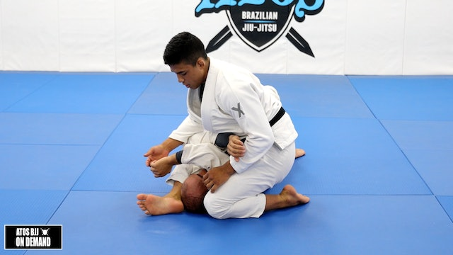 Armbar from Mount Position