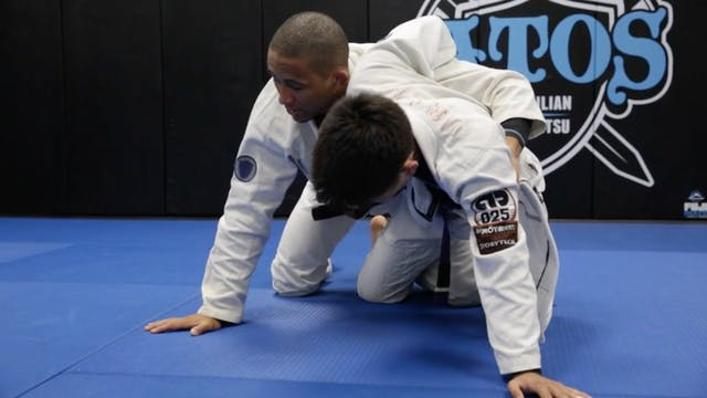 Dog Fight from Half Guard with Lapel ...