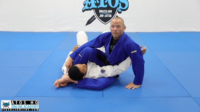 Transition to Omoplata When Opponent Does Hithhiker Escape