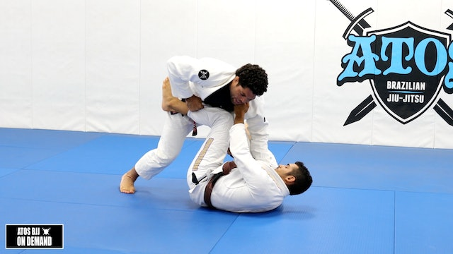 SUPER STRONG DLR PASS: The AG Big Staple Guard Pass