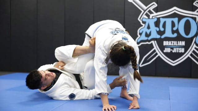 Sweeping From the One Leg X Guard Spi...