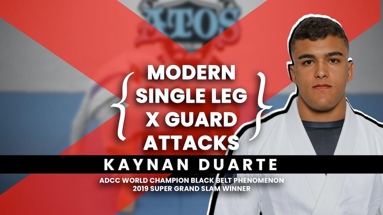 Single Leg X Guard | Kaynan Duarte