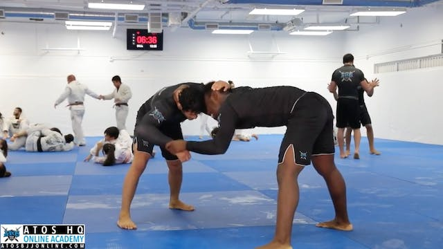Sparring: Lucas Barbosa vs Dominick A...