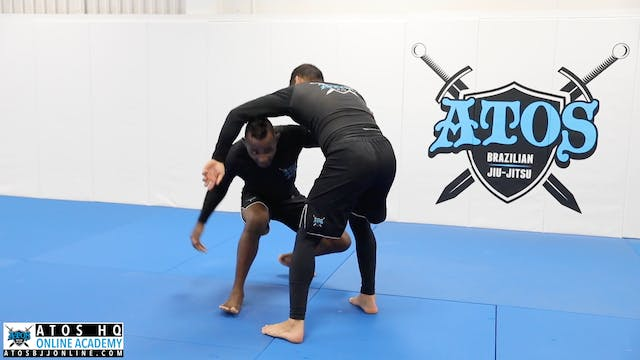 Double Inside Control Tie Up
