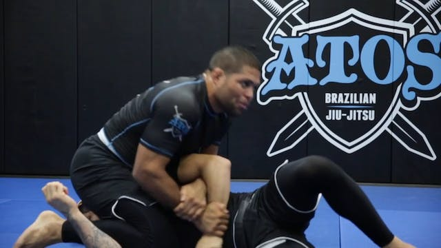Superman Back Take With Submission