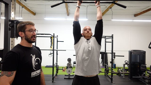 Aerobic Base/Glycolytic Capacity - Pullup Hold