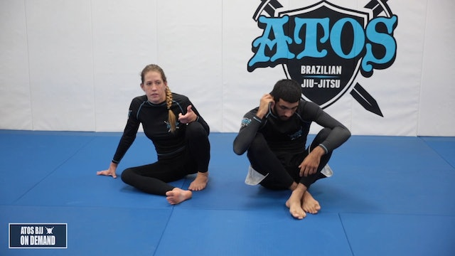 Triangle Armbar from the Back - 5pm Kids Class 5-8 yo