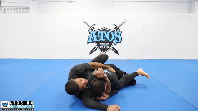 Sneaky Back Attack | Side Control Esc...