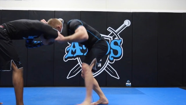 Takedown Via Duck Under With Transition to the Back