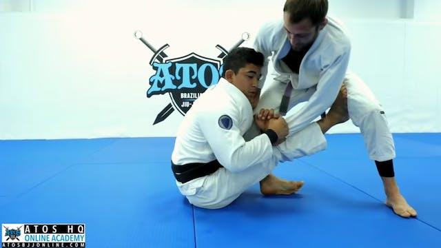 Sit Up Guard: Single Leg Sweep To Bac...
