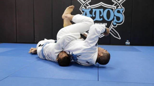 Back Body Lock Defense Using Hiza Gur...