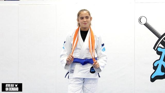 Pan Kids Champ Jadeya's belt promotion - blue belt