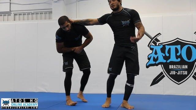 Single Leg Defense Variations