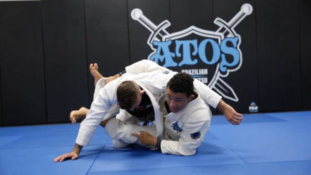 Back Take From the Closed Guard