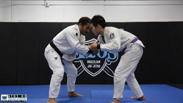 Basic Wrist Lock Submission From Stan...