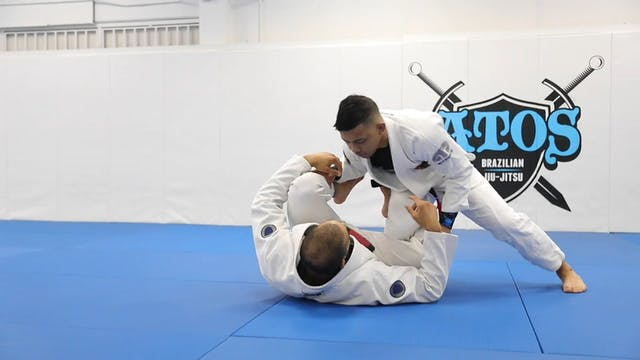 Reverse DLR to Z Guard + Stand Up Sweep
