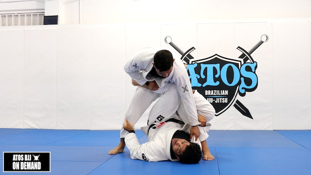 Reverse DLR Guard Transitioning to Y Guard Sweep