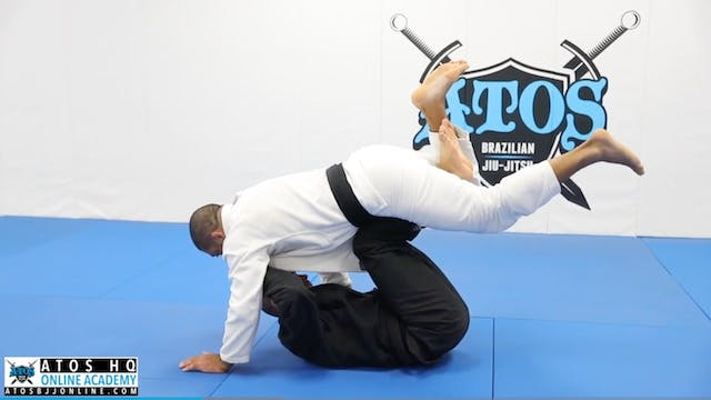 The Scissors Pass From Hooks Guard to...