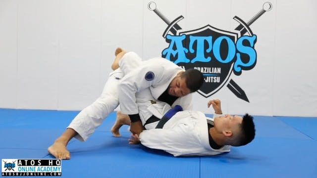 Old School Closed Guard Pass