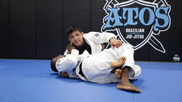 Knee Cut Pass Starting From Back Step...