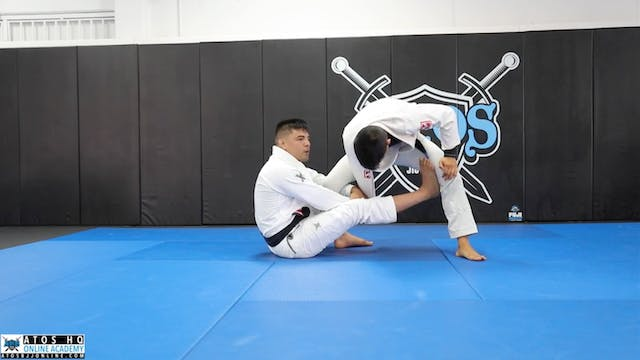 Sit Up Guard to Single Leg Using the ...