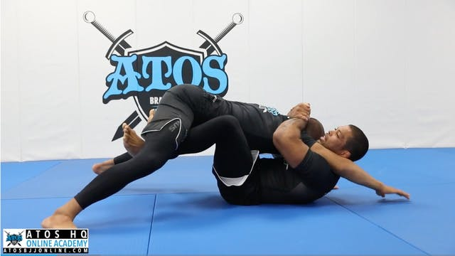 Shoulder Trap Sweep From Butterfly