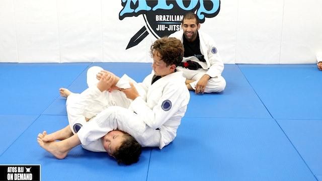 From Arm Bar To Back Take - Kid's Class
