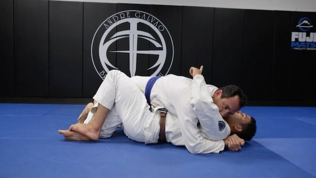 Basic Half Guard Recovery when Oppone...