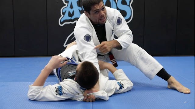 Simple Brabo Choke From Side Control