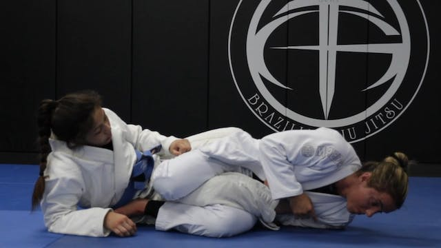 Single Leg X Ankle Lock Entry From To...