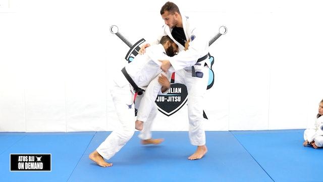 Single Leg Takedown Variations - Kids Class