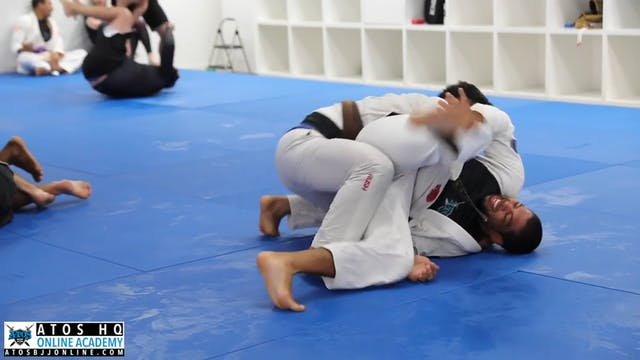 Sparring: Andre Galvao vs Andy Murasaki