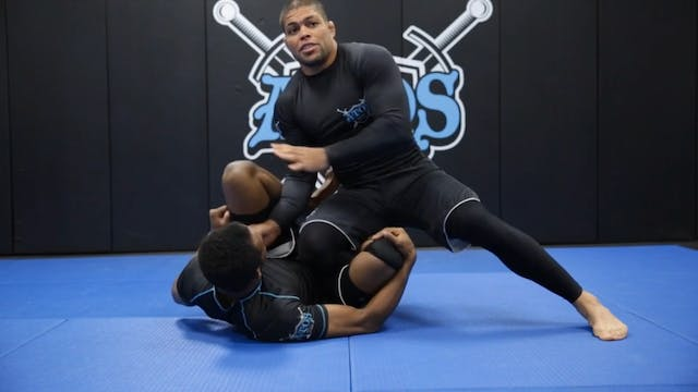 Taking the Back From the Half Guard W...