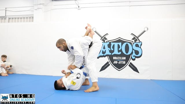 Grip Adjustments to Open Closed Guard...